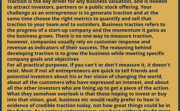 BUSINESS TRACTION