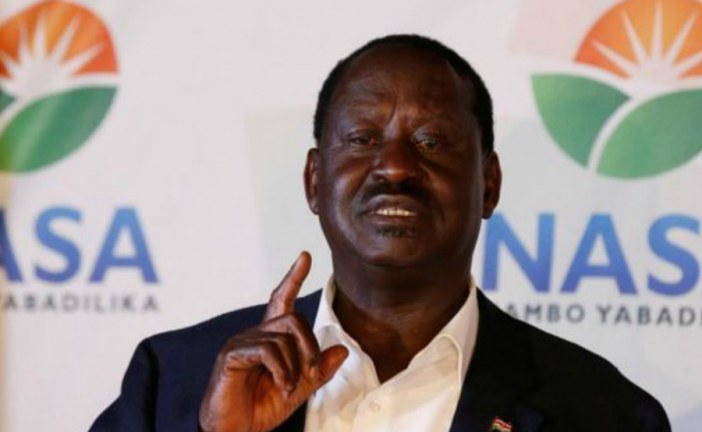 Raila Odinga says election systems hacked