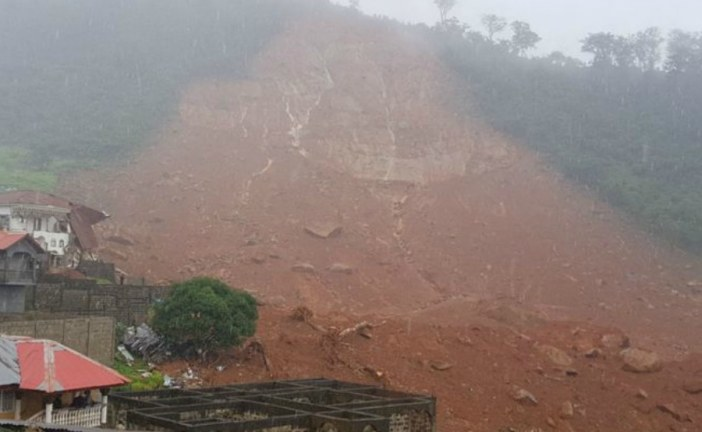 Sierra Leone: Mudslide kills at least 300 as houses are buried