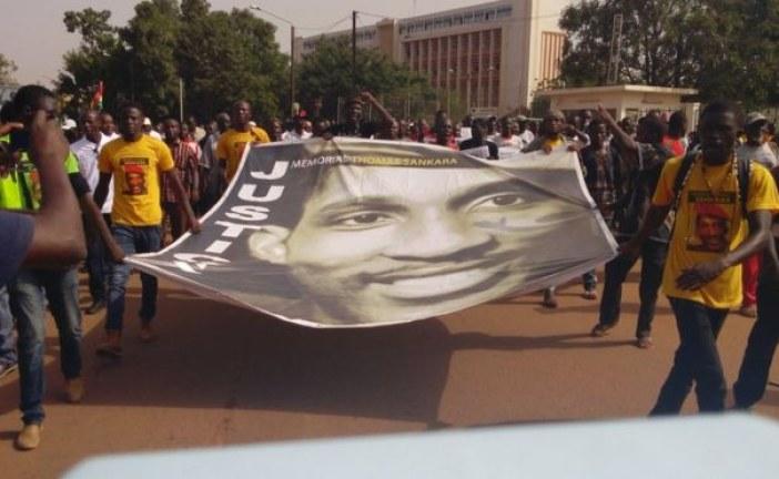 Burkina : la société civile demande justice pour Sankara