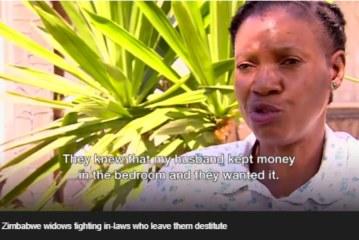 Zimbabwe widow 'wins landmark inheritance battle'