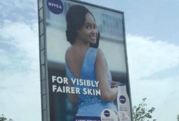 Nivea takes down skin-lightening cream advert