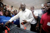 George Weah has not been declared President Of Liberia