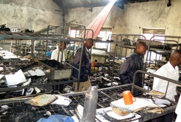 Uganda schoolgirls 'burn dormitory in protest'