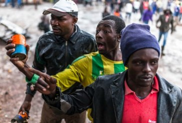 At least one man has been killed in violence grippingKenya's contentious presidential electionrerun