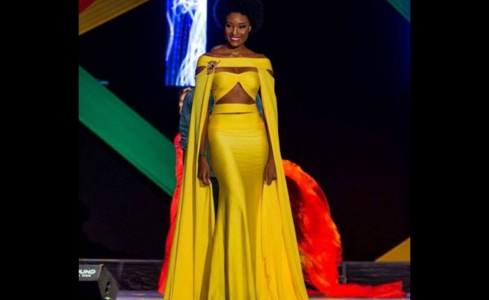 Miss Jamaica's Afro sends Twitter wild