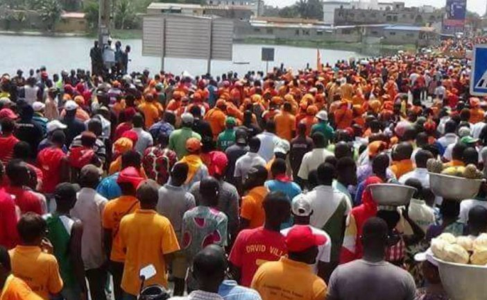 Togo: Opposition protests resume