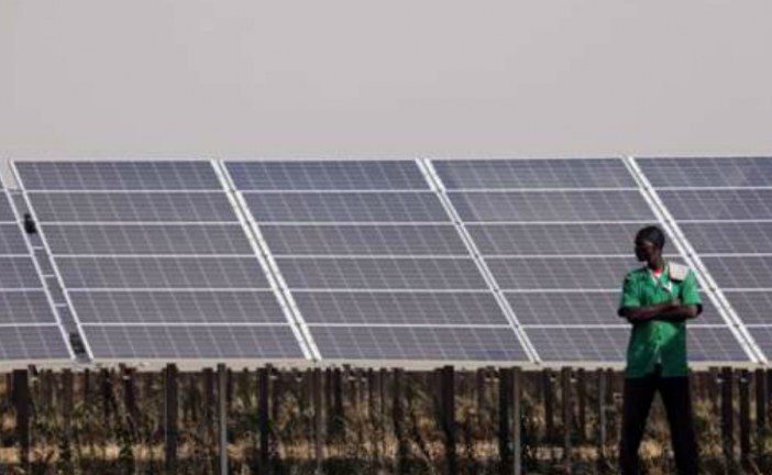 West Africa's biggest solar farm launched in Burkina Faso.