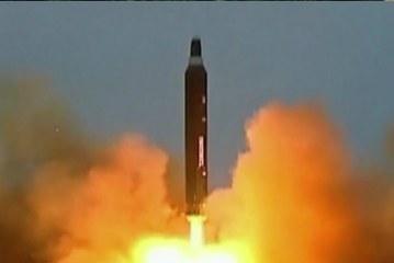 North Korea Launches Ballistic MissileTest