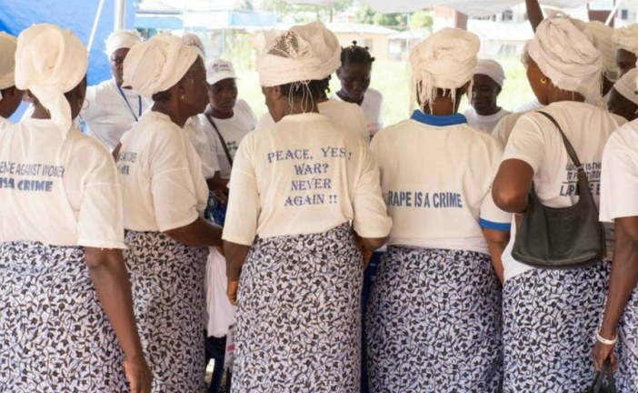 How women bring about peace and change in Liberia