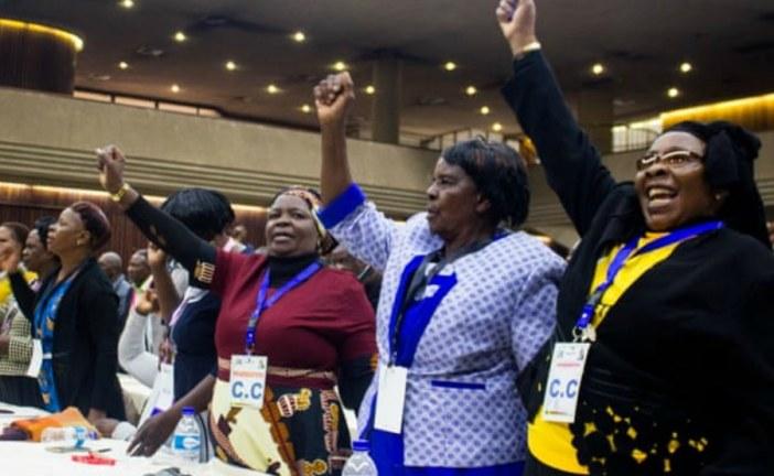 Robert Mugabe sacked as leader of Zanu-PF