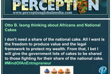 Otto B. Isong thinking about Africans and National Cakes
