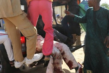 Nigeria bomb attack: teenage suicide bomber kills at least 50 in mosque