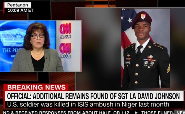 USA: Remains of soldier found in Niger after funeral