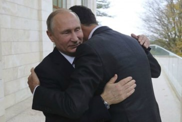Assad thanks Putin for saving Syria