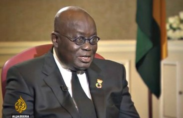 "President Akufo-Addo, ""Homosexuality is against Ghanaian's tradition."""